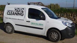 cornwall oven cleaning van