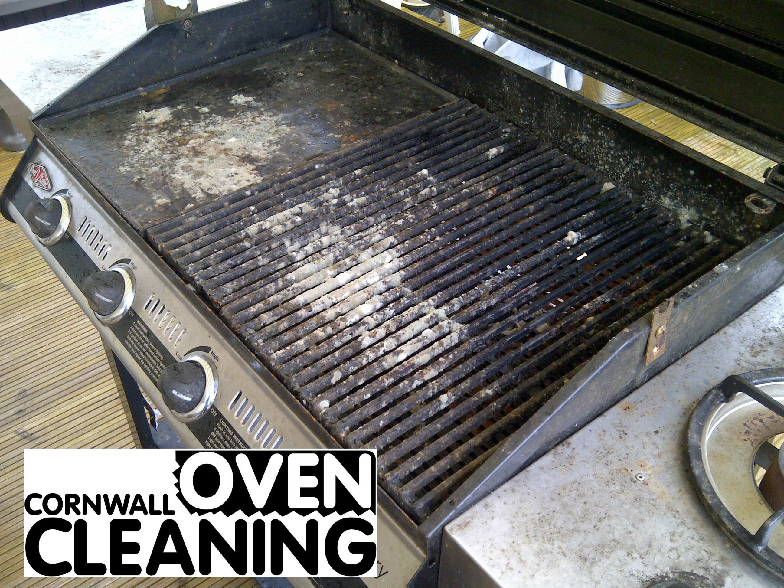 BBQ Cleaning Before Cornwall Oven Cleaning